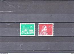 RDA 1962 FICHTE Yvert 602-603 NEUF** MNH - Ongebruikt