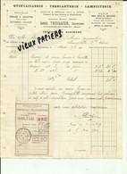 55 - Meuse - Cousances Aux Forges - Facture Louis Thuillier - Quincaillerie - Ferblanterie  - 1913 - Réf . 56. - 1900 – 1949