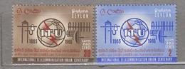 CEYLON 1965 ITU Telecommunication MNH(**) Mi 334-335 #24099 - Telekom