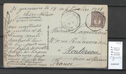 Tunisie - CP - Cachet De SAINT GERMAIN - 1928 - Storia Postale