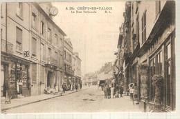 60 - Crépy-en-Valois (oise) - La  Rue Nationale - Crepy En Valois