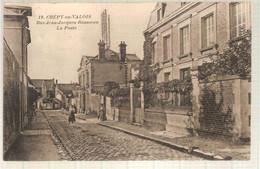 60 - Crépy-en-Valois (oise) - Rue Jean-Jacques Rousseau - La Poste - Crepy En Valois