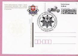 Poland 2019, WALCZ. Postcard, Road Police, Motorbike, LIMITED EDITION Issued By Poczta Polska - Polizia – Gendarmeria