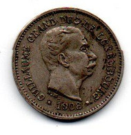Luxembourg 5 Centimes 1908 - TTB - Luxembourg