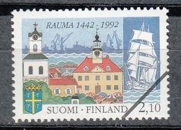FINLANDIA 1992 - 550 ANIVERSARIO DE LA VILLA DE RAUMA - YVERT Nº  1133** - SPECIMEN - Nuevos