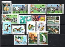 R-22 Bénin N° 538 à 552  **. A Saisir !!! - Benin – Dahomey (1960-...)