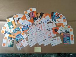 LOTTO 40 RICARICHE WIND USATE (421W40-1 - [2] Sim Cards, Prepaid & Refills