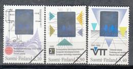 FINLANDIA 1992 - SERIE CONMEMORATIVA- YVERT Nº 1143-1145** - SPECIMEN - Nuevos