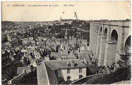 23- Morlaix - Vue Generale Prise Du Créou - ND. Phot - Ecrit Voeux 1915 - Morlaix