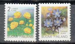 FINLANDIA  1992 - FINLAND - FLORES- FLEURS - FLOWER  - YVERT Nº  1129-1130** - Nuevos