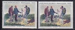 FRANCE - Courbet Avec Double Baton Neuf TTB - Varietà: 1960-69 Nuovi