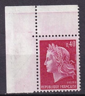 FRANCE - 40 C. Cheffer Sur Papier Rose Neuf TTB - Varietà: 1960-69 Nuovi