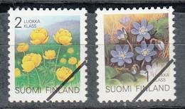 FINLANDIA  1992 - FINLAND - FLORES- FLEURS - FLOWER  - YVERT Nº  1129-1130** - SPECIMEN - Nuevos