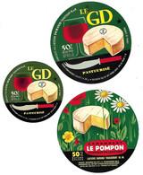 3 ETIQU.DURAND THIAUCOURT Meurthe Et Mosellle - Cheese