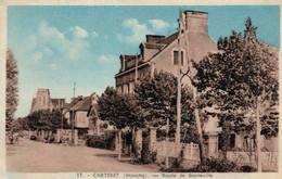 Carteret (Manche) La Route De Barneville - Edition Olivier - Carte N° 17 - Carteret