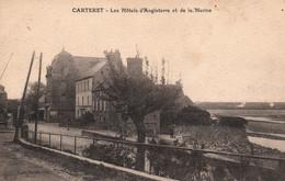 Carteret (Manche) Les Hôtels D'Angleterre Et De La Marine - Collection Vandevelde, Edition H. Ermice - Carteret