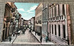 CP Carte Postale Ancienne Sofia Colorisée Rue Lège Lege София - Bulgaria