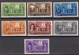 Egypte 1946 Yvert 243 / 249 * Neufs Avec Charniere. Conference Des Chefs Arabes à In Chassa. Effigies. - Non Classés