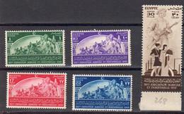 Egypte 1949 Yvert 264 / 268 **  Neufs Sans Charniere. 10eme Exposition Agricole Et Industrielle. - Neufs