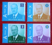Koning Albert II OBC 3867-3870 (Mi 3913-3916) 2009 POSTFRIS MNH ** BELGIE BELGIEN / BELGIUM - Unused Stamps