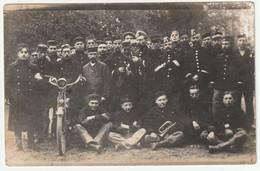 ARMEE BELGE - PHOTO CARTE - Soldats Belges En France - Barracks