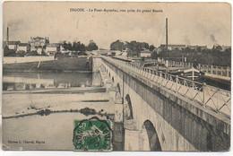 71 DIGOIN Le Pont-Aqueduc , Vue Prise Du Grand Bassin (Péniches) - Houseboats