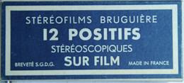 BRUGUIÈRE    STÉRÉOFILMS : LOURDES - LES FUNICULAIRES - Stereoscopes - Side-by-side Viewers