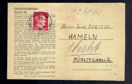 Lac Konzentrationslager Dachau 3K écrite 5-11-44 / Munchen 10 11 44 - Seconda Guerra Mondiale