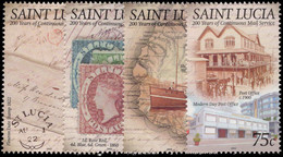 St Lucia 2003 Continuous Mail Service Unmounted Mint. - St.Lucie (1979-...)