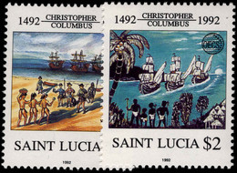 St Lucia 1992 Columbus Unmounted Mint. - St.Lucie (1979-...)