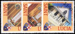 St Lucia 1988 Methodist Church Unmounted Mint. - St.Lucie (1979-...)