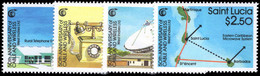 St Lucia 1988 Cable And Wireless Network Unmounted Mint. - St.Lucie (1979-...)