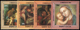 St Lucia 1987 Christmas Unmounted Mint. - St.Lucie (1979-...)