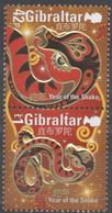 Année Du Serpent   2012   XXX - Gibraltar