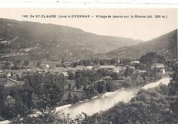 149. De SAINT-CLAUDE A OYONNAX . VILLAGE DE JEURRE SUR LA BIENNE . CARTE NON ECRITE - Saint Claude