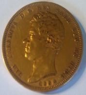 Monnaie, États Italiens, SARDINIA, Carlo Alberto, 100 Lire, 1834, Torino - Two Sicilia