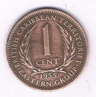 1 CENT 1955 BRITISH EAST CARIBBEAN ANTILLEN /2797/ - West Indies