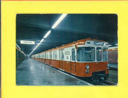 TRENI---MEZZI DI TRASPORTO-METROPOLITANA - MILANO - Subway