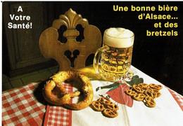 Une Bonne Bière D'Alsace Et Des Bretzels, à Votre Santé - éditions Mage - Neuve - Recipes (cooking)