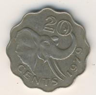 SWAZILAND 1979: 20 Cents, KM 11 - Swaziland