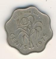SWAZILAND 1975: 10 Cents, KM 23 - Swaziland