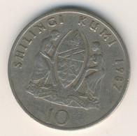 TANZANIA 1987: 10 Shilingi, KM 20 - Tanzania