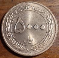 Iran 5000 Rials 2011 SH1389, Muslim Unity Week - Vahdat Week, KM#1280, Unc - Iran