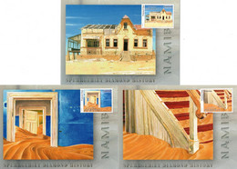 Namibia - 2017 Kolmanskop Maxi Card Set Uncancelled - Namibia (1990- ...)