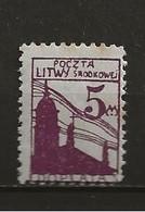 Lituanie Taxe Oblitéré N° 5 Lot 44-71 - Litouwen
