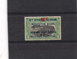 Ruanda Urundi  COB 46  (D 15) MH - 1916-22: Mint/hinged