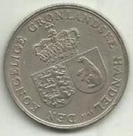 1 Krone 1964 Gronelandia Rara - Greenland