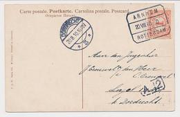 Treinblokstempel : Arnhem - Rotterdam D 1910 - Non Classificati