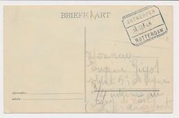 Treinblokstempel : Antwerpen - Rotterdam K 1914 - Non Classificati
