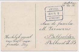 Treinblokstempel : Boxtel - Utrecht D 1915 - Non Classificati